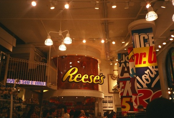 Hershey's Time Square